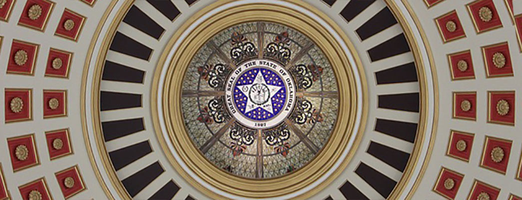 State Seal OKC Capital Building